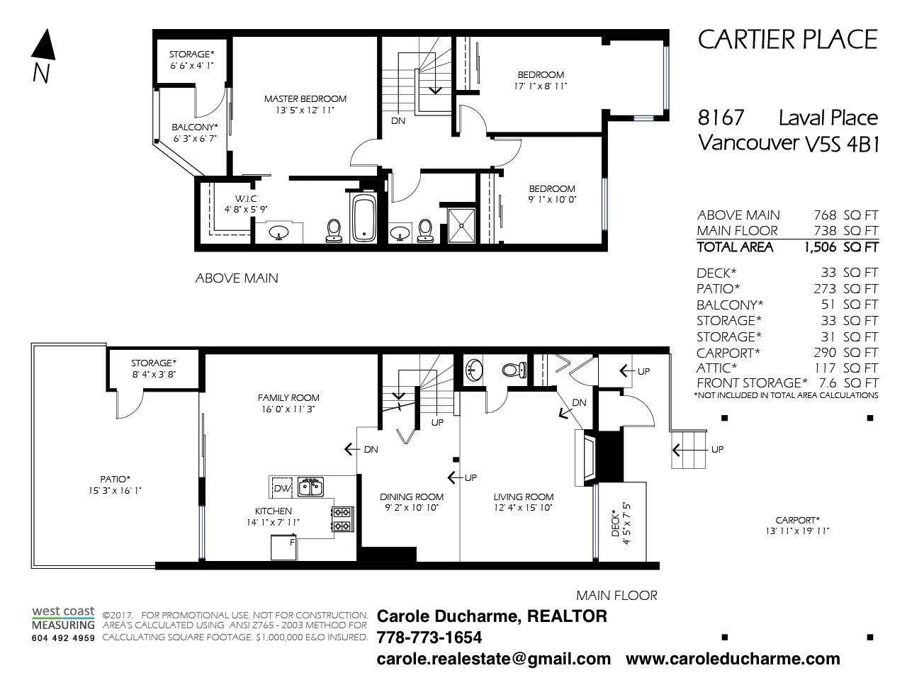 Townhouse at 8167 LAVAL PLACE, Vancouver East, British Columbia. Image 20