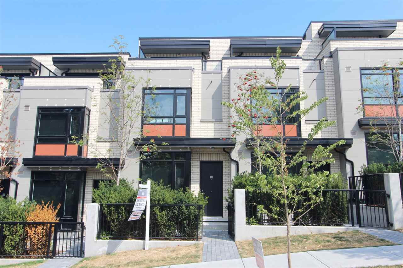 Townhouse at 4068 ASH STREET, Vancouver West, British Columbia. Image 1