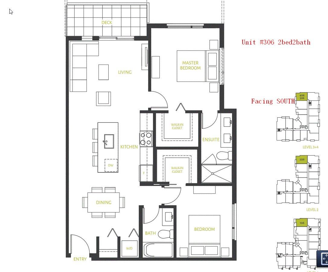 Condo Apartment at 306 10603 140 STREET, Unit 306, North Surrey, British Columbia. Image 2