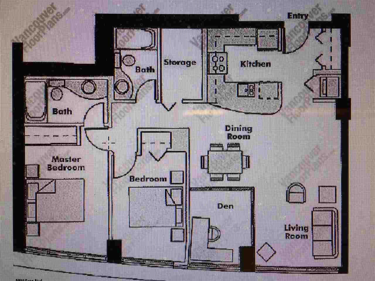 Condo Apartment at 3305 1009 EXPO BOULEVARD, Unit 3305, Vancouver West, British Columbia. Image 20