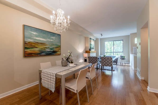 Townhouse at 117 100 KLAHANIE DRIVE, Unit 117, Port Moody, British Columbia. Image 3