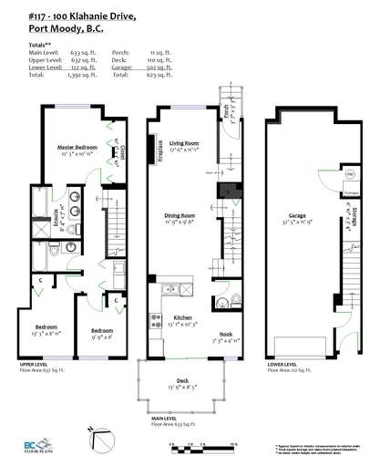 Townhouse at 117 100 KLAHANIE DRIVE, Unit 117, Port Moody, British Columbia. Image 20