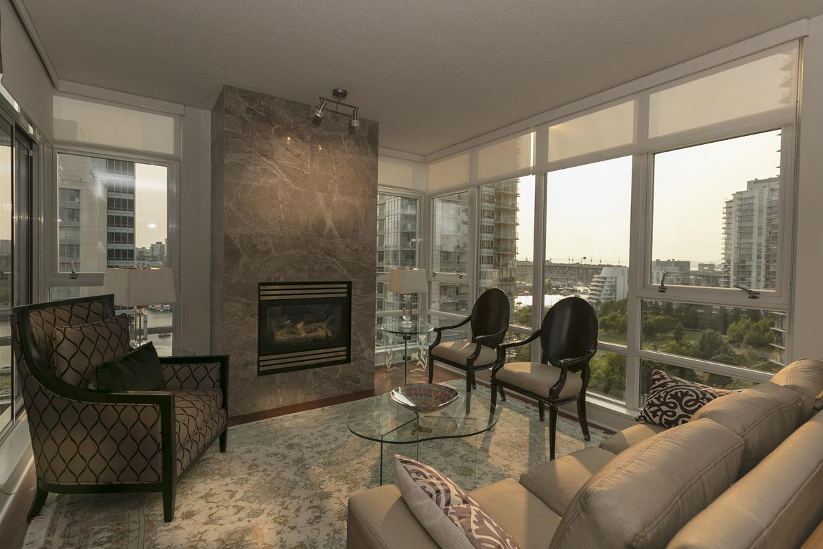 Condo Apartment at 1506 1483 HOMER STREET, Unit 1506, Vancouver West, British Columbia. Image 1