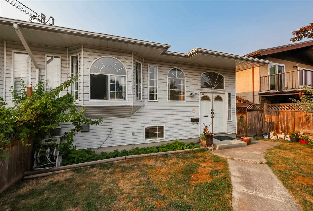 Half-duplex at 5813 SPROTT STREET, Burnaby North, British Columbia. Image 2