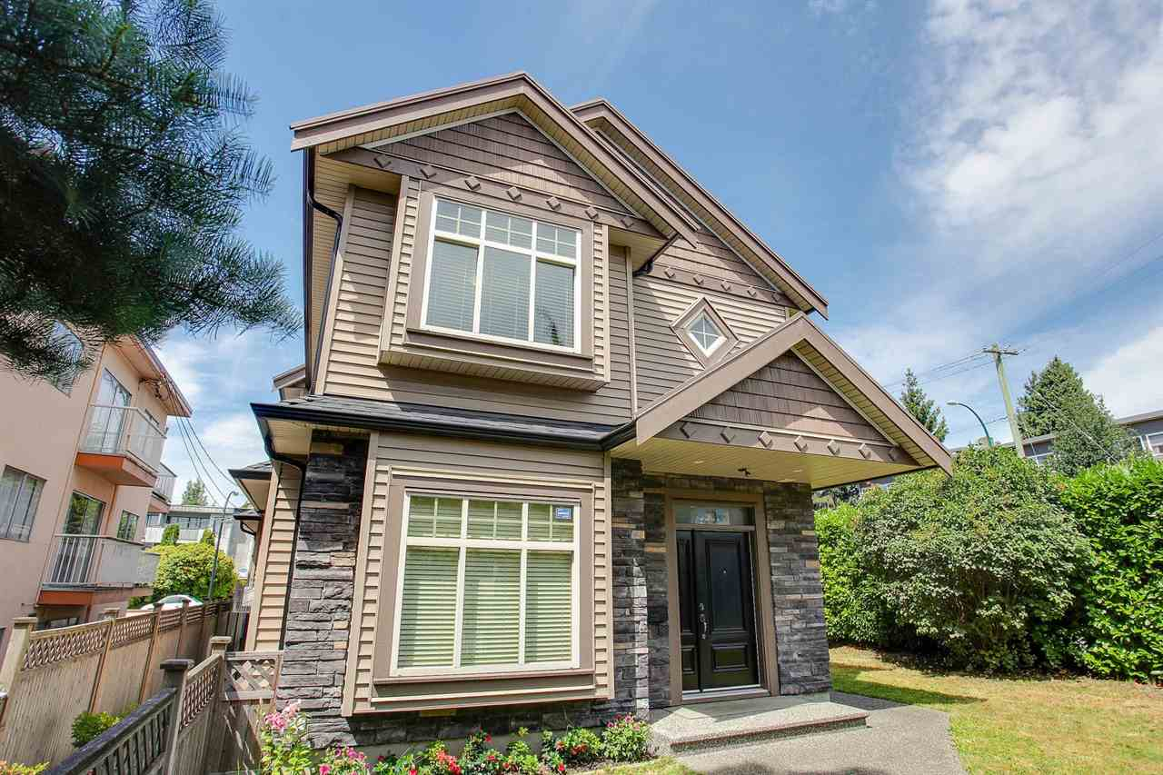 Half-duplex at 8607 HEATHER STREET, Vancouver West, British Columbia. Image 2