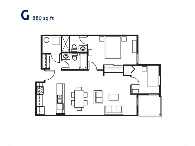 Condo Apartment at 308 5599 14B AVENUE, Unit 308, Tsawwassen, British Columbia. Image 14