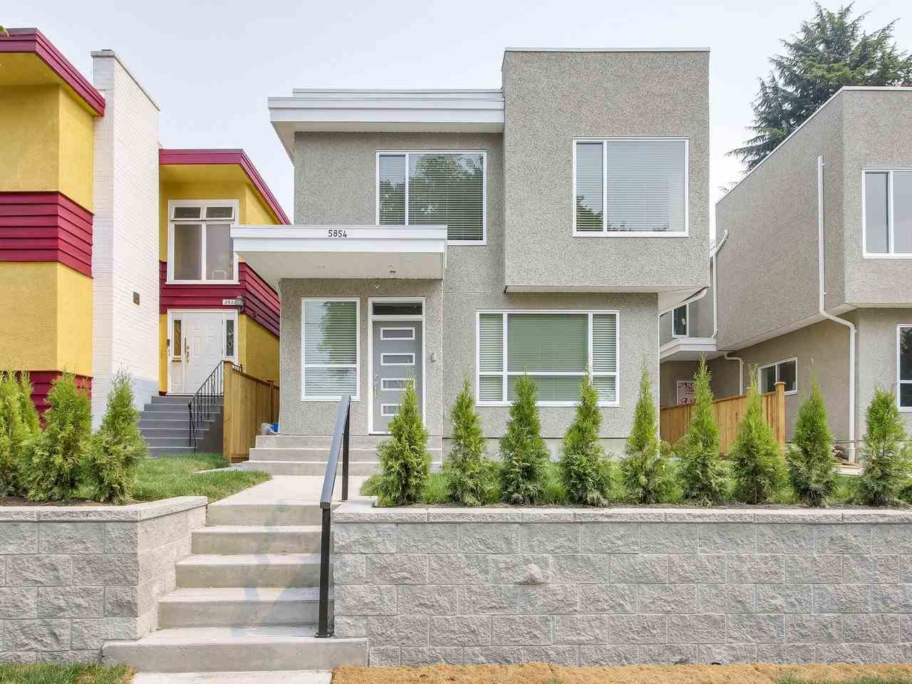 Half-duplex at 5854 MAIN STREET, Vancouver East, British Columbia. Image 1