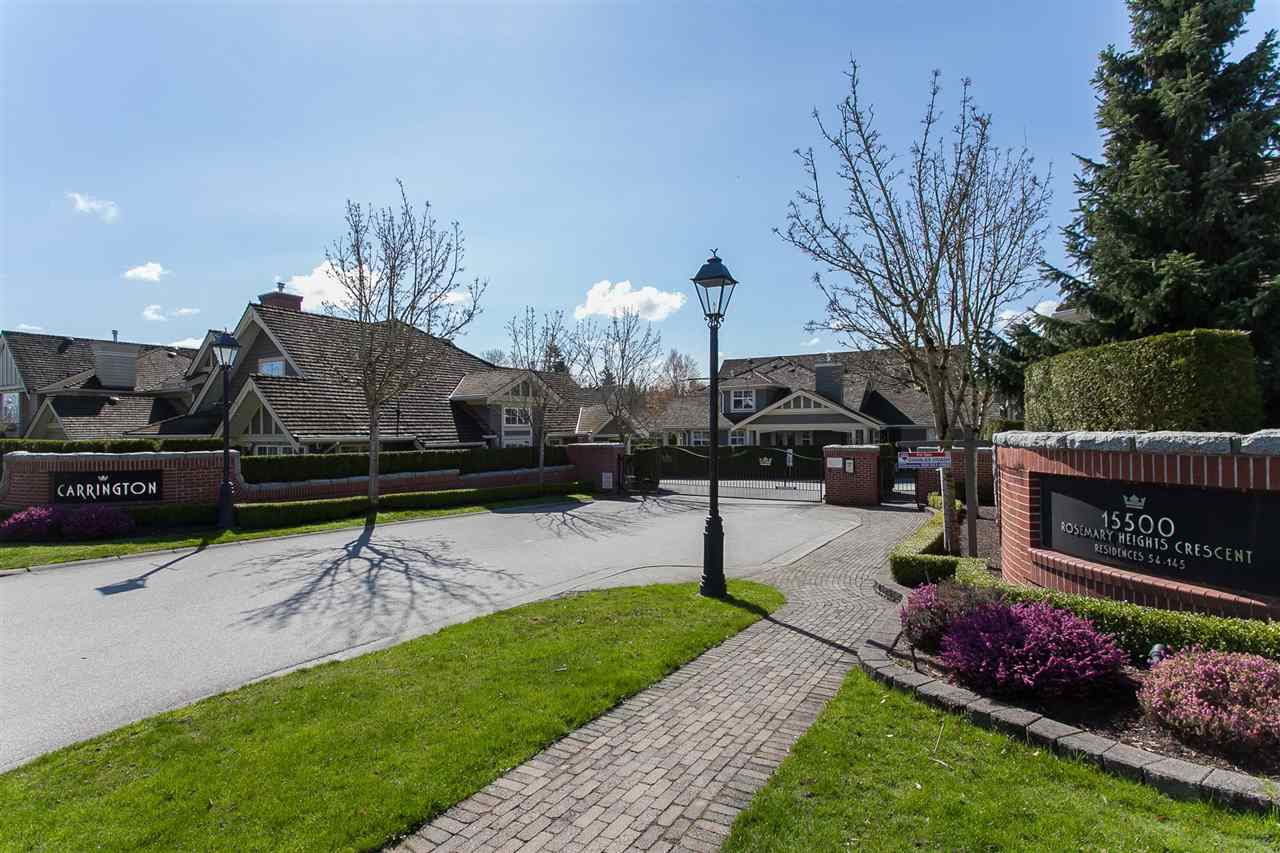 Townhouse at 113 15500 ROSEMARY HEIGHTS CRESCENT, Unit 113, South Surrey White Rock, British Columbia. Image 1