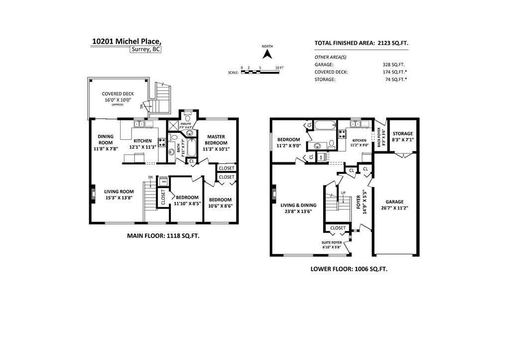 Detached at 10201 MICHEL PLACE, North Surrey, British Columbia. Image 20