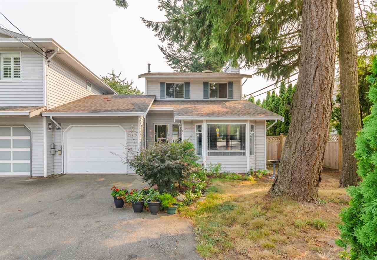 Half-duplex at 15410 20 AVENUE, South Surrey White Rock, British Columbia. Image 1