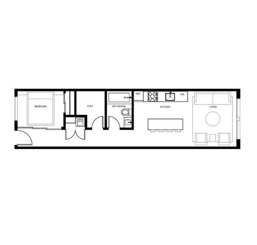 Condo Apartment at 209 626 ALEXANDER STREET, Unit 209, Vancouver East, British Columbia. Image 13