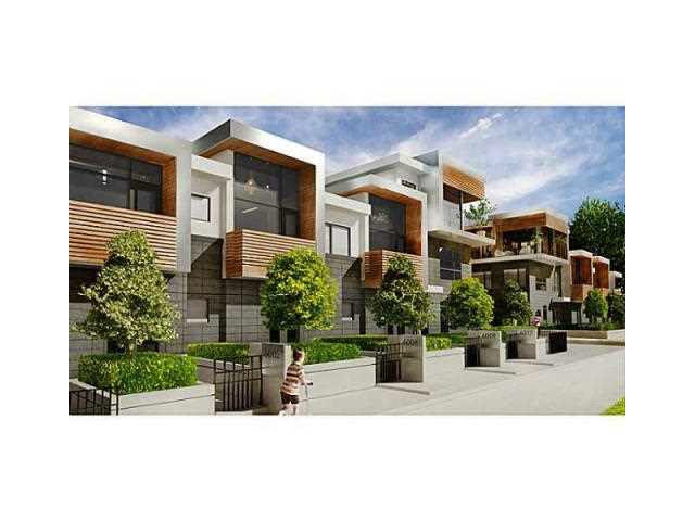 Townhouse at 6060 OAK STREET, Vancouver West, British Columbia. Image 1
