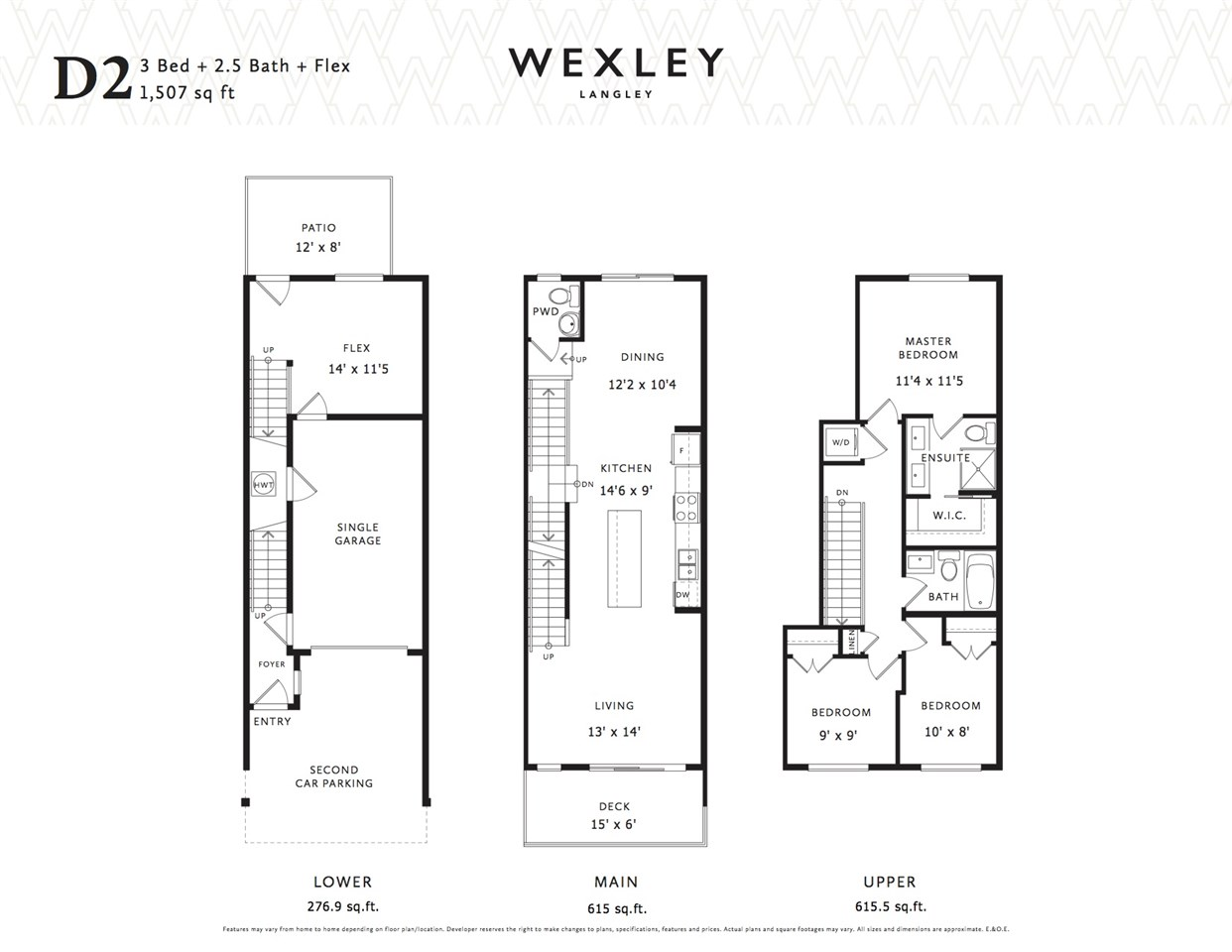 Townhouse at 33 20857 77A AVENUE, Unit 33, Langley, British Columbia. Image 13