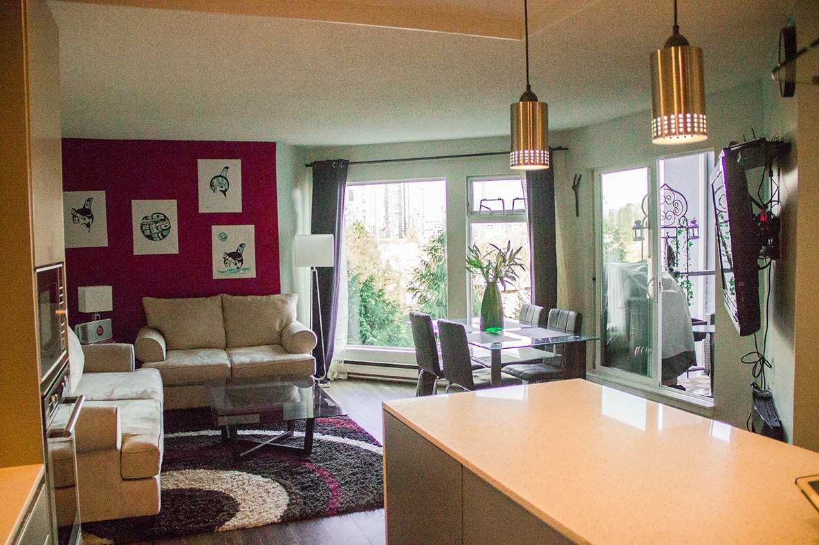 Condo Apartment at 205 1365 W 4TH AVENUE, Unit 205, Vancouver West, British Columbia. Image 3