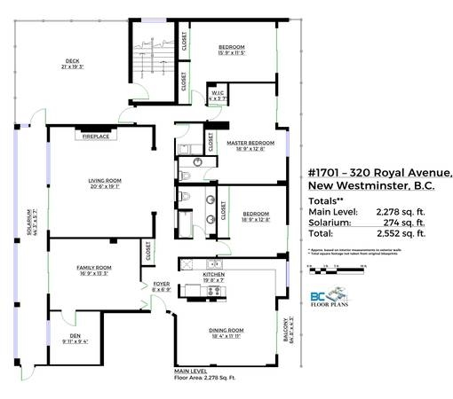 Condo Apartment at 1701 320 ROYAL AVENUE, Unit 1701, New Westminster, British Columbia. Image 18