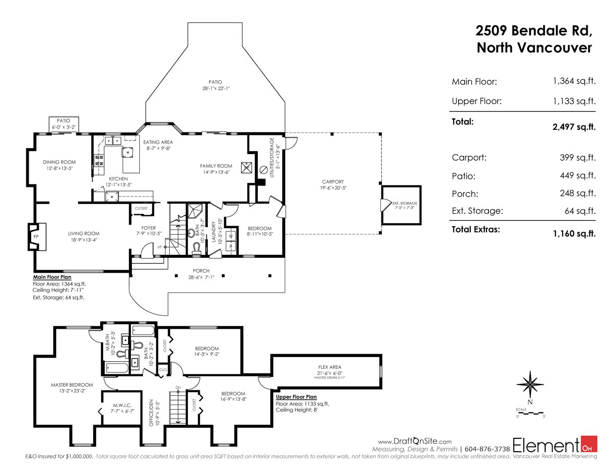 Detached at 2509 BENDALE ROAD, North Vancouver, British Columbia. Image 20