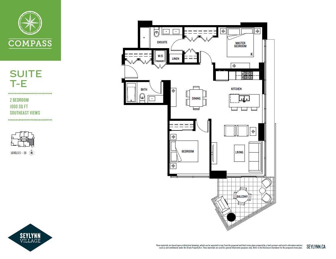 Condo Apartment at 703 680 SEYLYNN CRESCENT, Unit 703, North Vancouver, British Columbia. Image 2