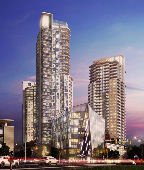 Condo Apartment at 2902 7308 NOBLE LANE, Unit 2902, Burnaby East, British Columbia. Image 2