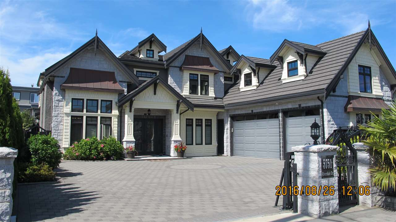 Detached at 5751 RIVERDALE DRIVE, Richmond, British Columbia. Image 1