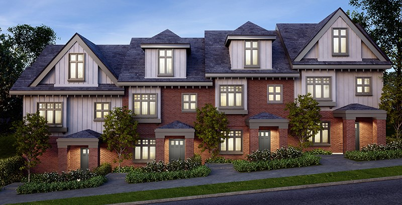 Townhouse at 7495 GRANVILLE STREET, Vancouver West, British Columbia. Image 4