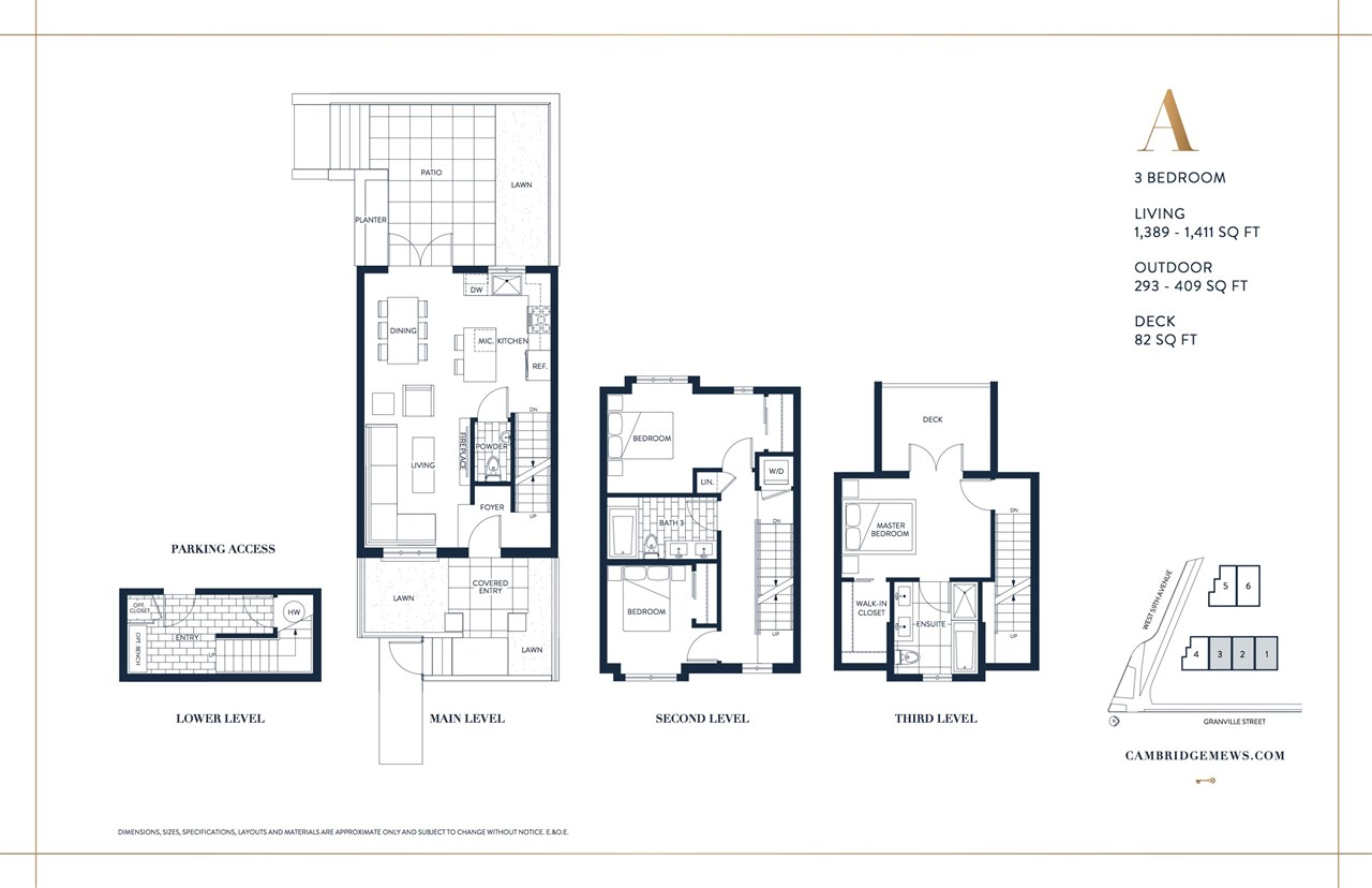 Townhouse at 7495 GRANVILLE STREET, Vancouver West, British Columbia. Image 5