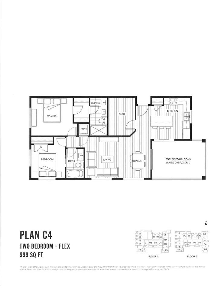 Condo Apartment at 119 5638 201A STREET, Unit 119, Langley, British Columbia. Image 1