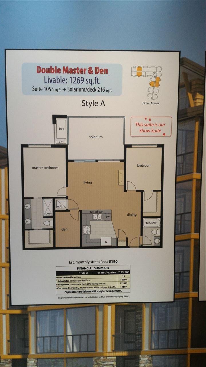 Condo Apartment at 217 32445 SIMON AVENUE, Unit 217, Abbotsford, British Columbia. Image 2