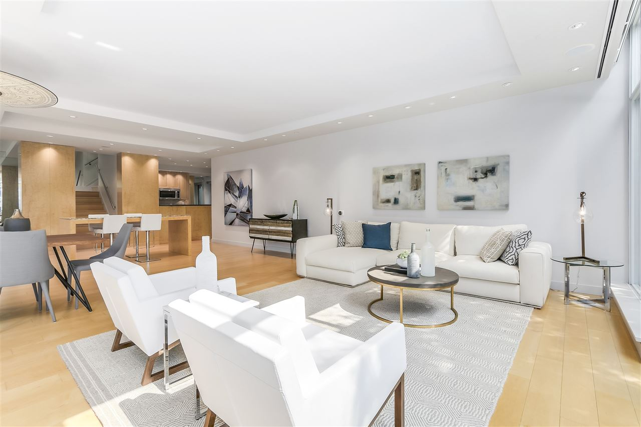Townhouse at 403 BEACH CRESCENT, Vancouver West, British Columbia. Image 4