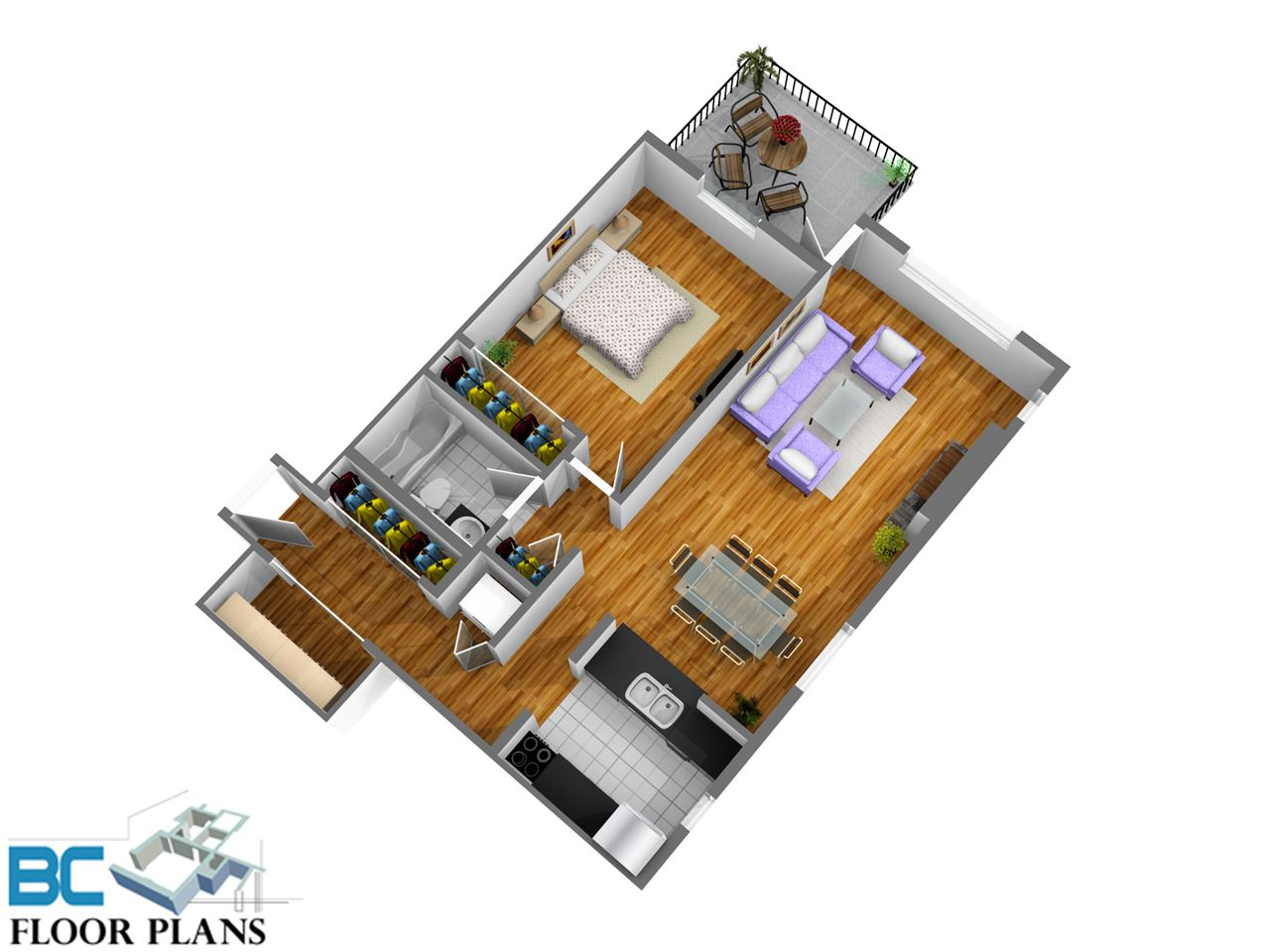 Condo Apartment at 111 5577 SMITH AVENUE, Unit 111, Burnaby South, British Columbia. Image 15