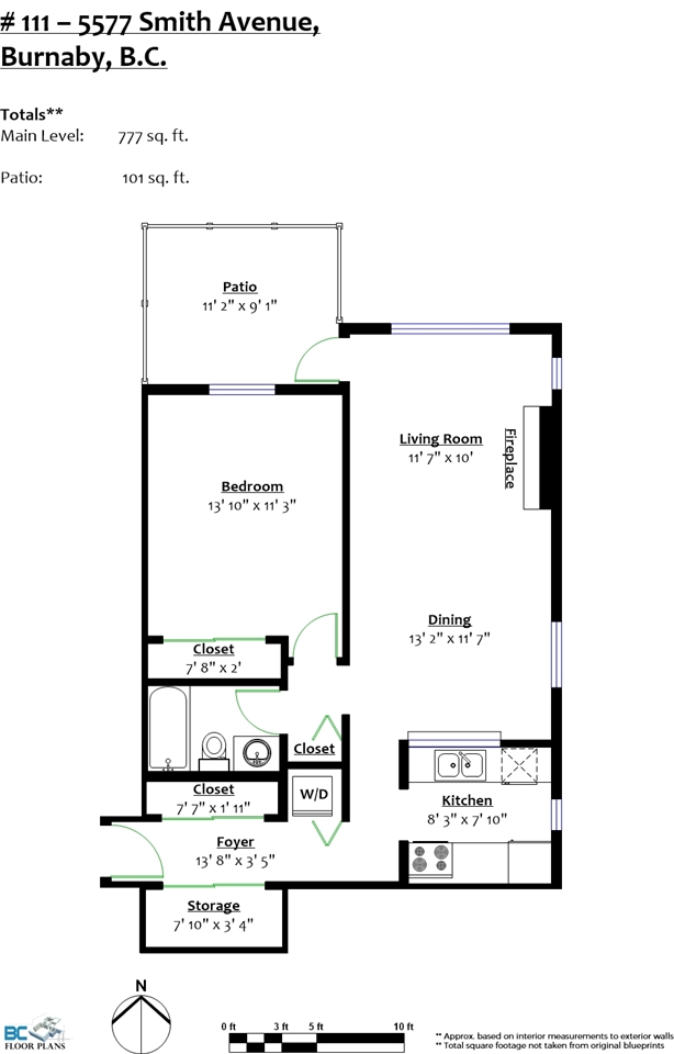 Condo Apartment at 111 5577 SMITH AVENUE, Unit 111, Burnaby South, British Columbia. Image 16