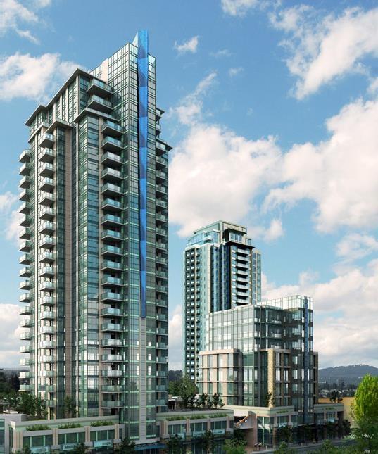 Condo Apartment at 901 3008 GLEN DRIVE, Unit 901, Coquitlam, British Columbia. Image 1