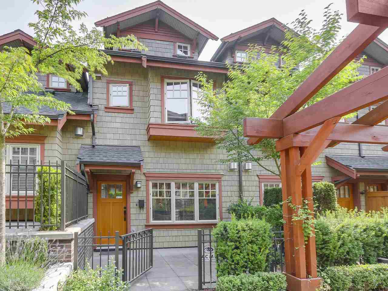 Townhouse at 5926 OAK STREET, Vancouver West, British Columbia. Image 1