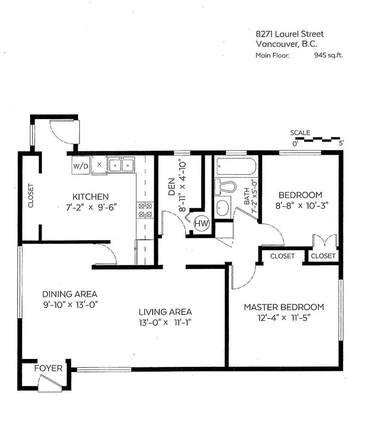 Half-duplex at 8271 LAUREL STREET, Vancouver West, British Columbia. Image 15
