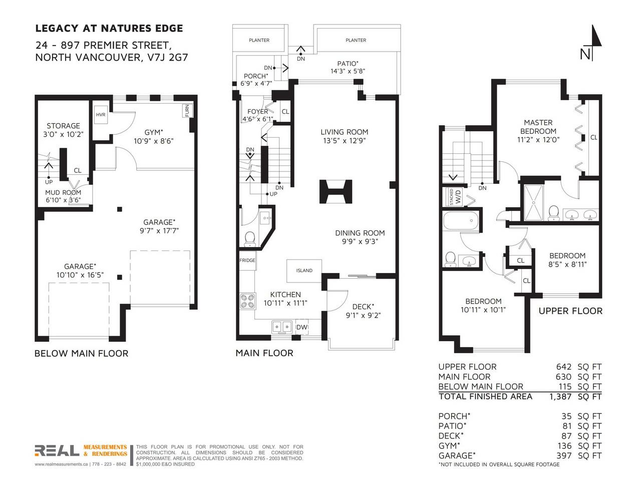 Townhouse at 24 897 PREMIER STREET, Unit 24, North Vancouver, British Columbia. Image 20