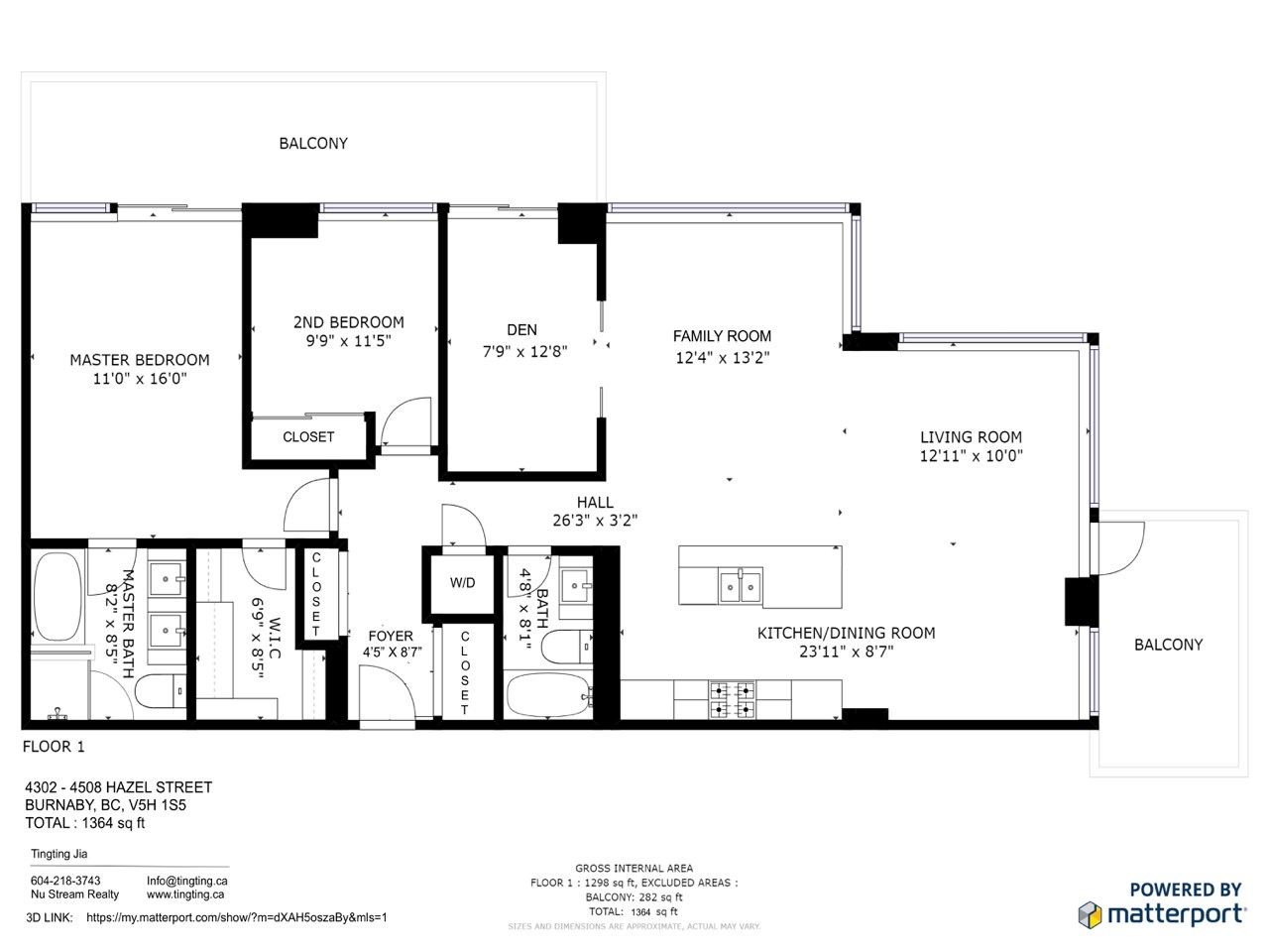 Condo Apartment at 4302 4508 HAZEL STREET, Unit 4302, Burnaby South, British Columbia. Image 10