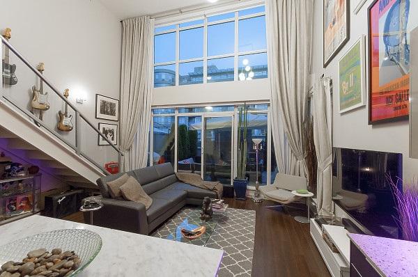 Condo Apartment at 311 429 W 2ND AVENUE, Unit 311, Vancouver West, British Columbia. Image 4