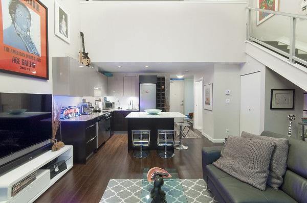 Condo Apartment at 311 429 W 2ND AVENUE, Unit 311, Vancouver West, British Columbia. Image 5