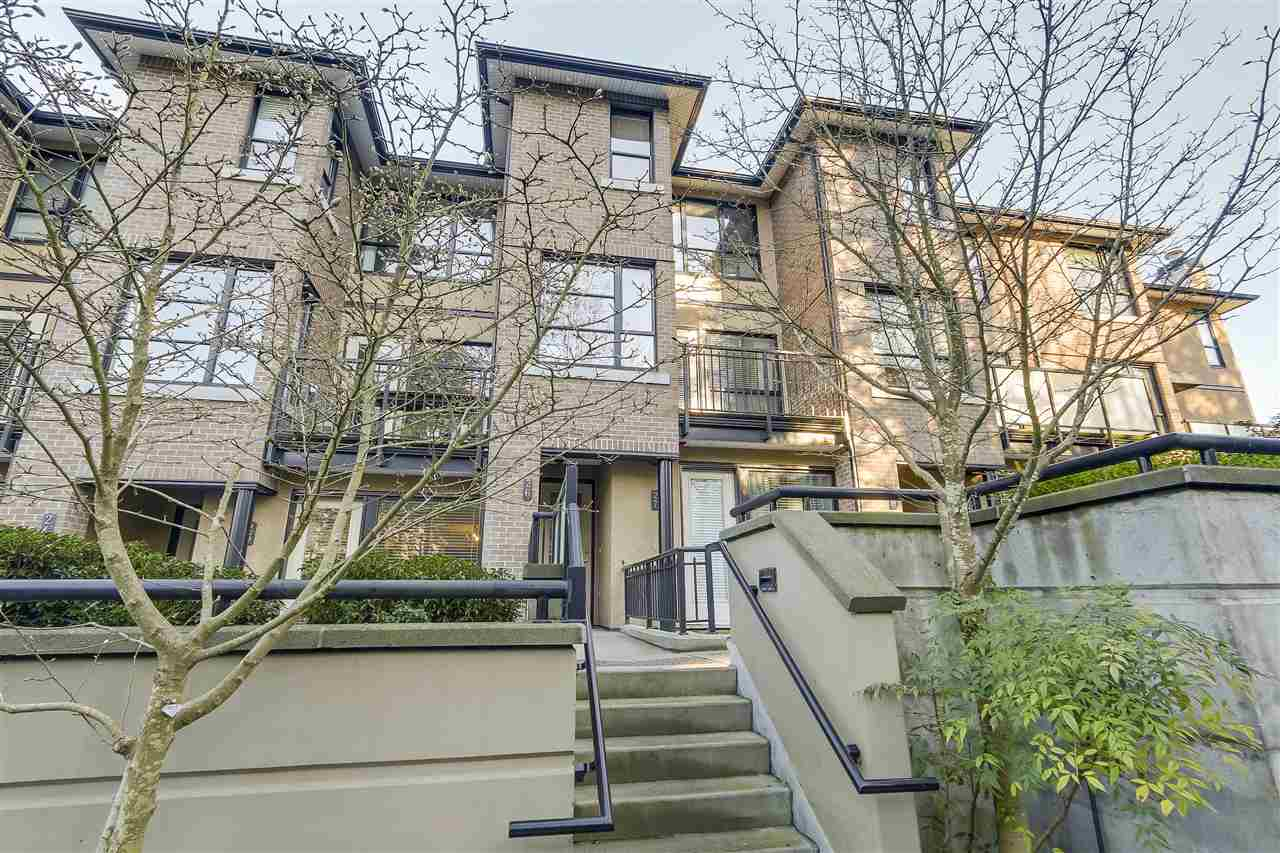Townhouse at 18 1863 WESBROOK MALL, Unit 18, Vancouver West, British Columbia. Image 1