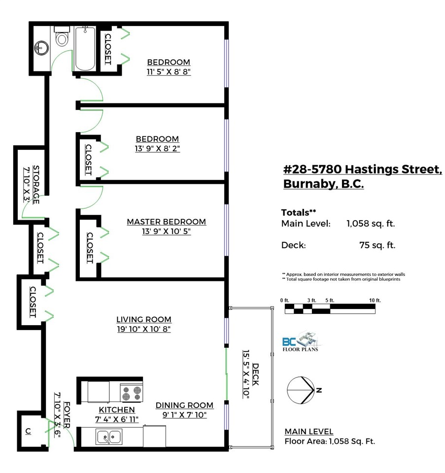 Condo Apartment at 28 5780 HASTINGS STREET, Unit 28, Burnaby North, British Columbia. Image 9