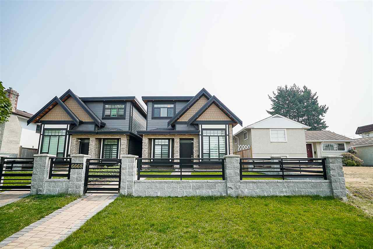 Half-duplex at 6668 BRANTFORD AVENUE, Burnaby South, British Columbia. Image 1