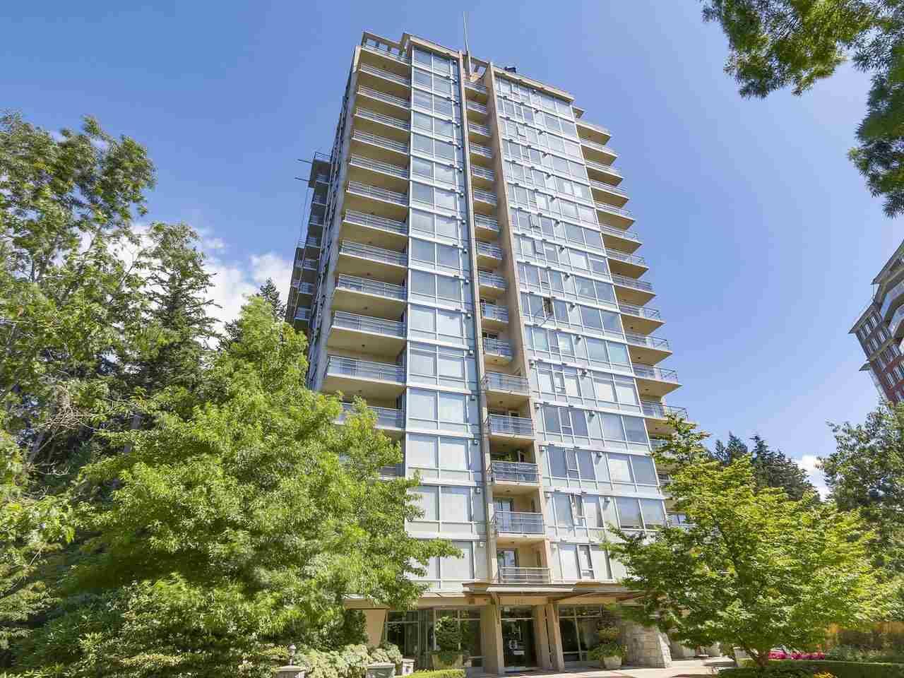 Condo Apartment at 1406 5639 HAMPTON PLACE, Unit 1406, Vancouver West, British Columbia. Image 2