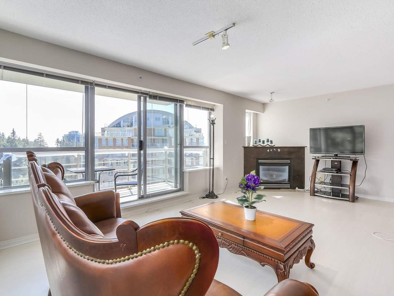 Condo Apartment at 1406 5639 HAMPTON PLACE, Unit 1406, Vancouver West, British Columbia. Image 6