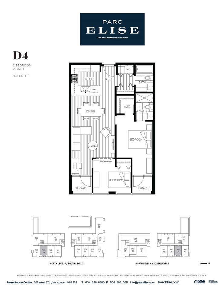 Condo Apartment at 503 4488 CAMBIE STREET, Unit 503, Vancouver West, British Columbia. Image 10