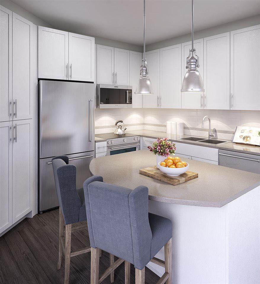 Condo Apartment at 402 8360 DELSOM WAY, Unit 402, N. Delta, British Columbia. Image 4