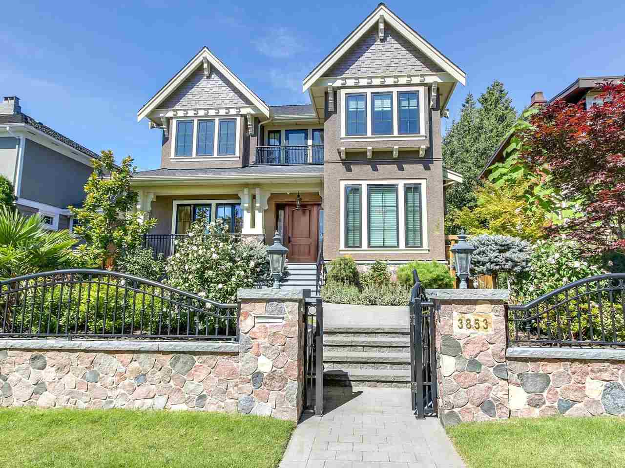 Detached at 3853 W 38TH AVENUE, Vancouver West, British Columbia. Image 1