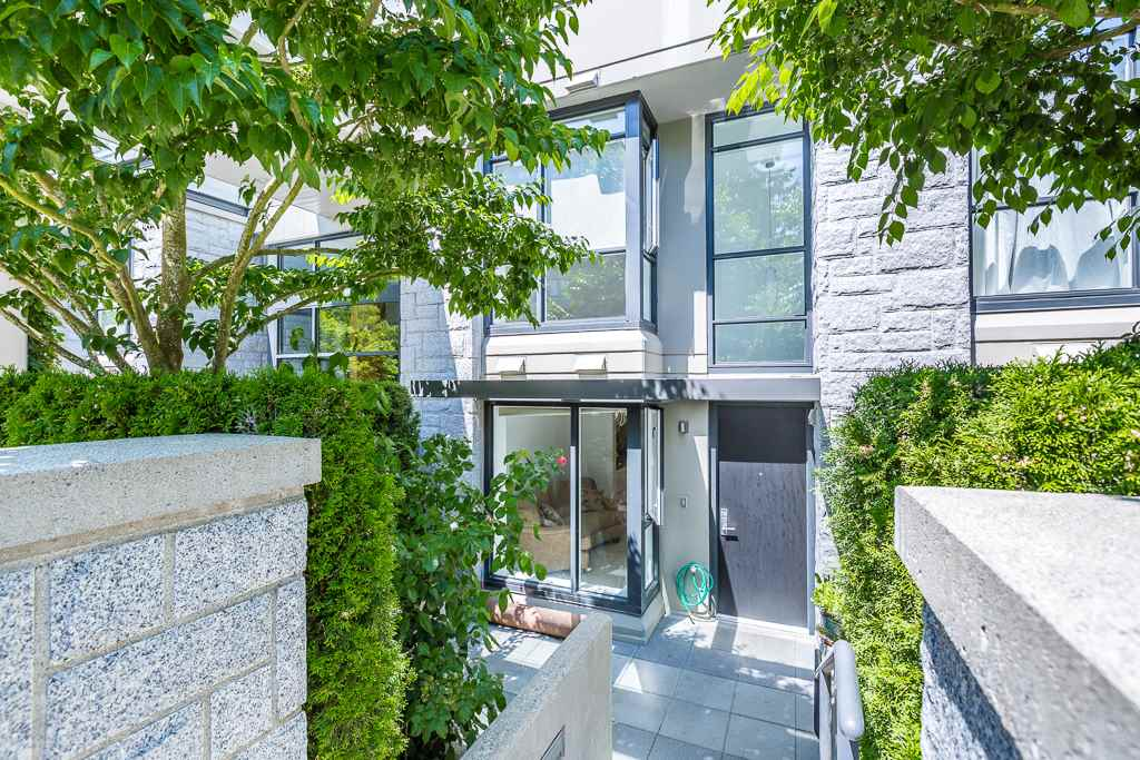 Townhouse at 5987 WALTER GAGE ROAD, Vancouver West, British Columbia. Image 1