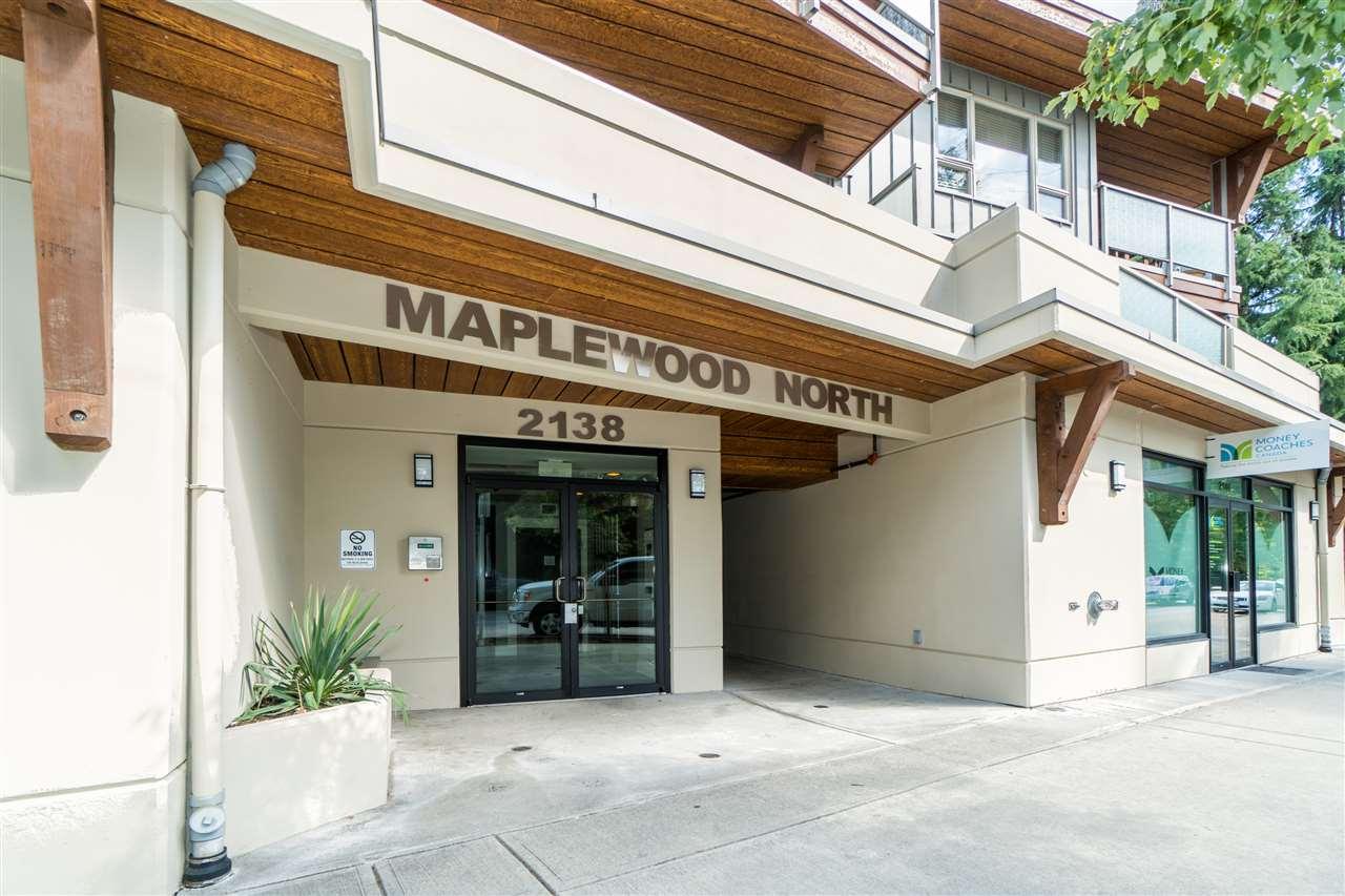 Condo Apartment at 206 2138 OLD DOLLARTON ROAD, Unit 206, North Vancouver, British Columbia. Image 1