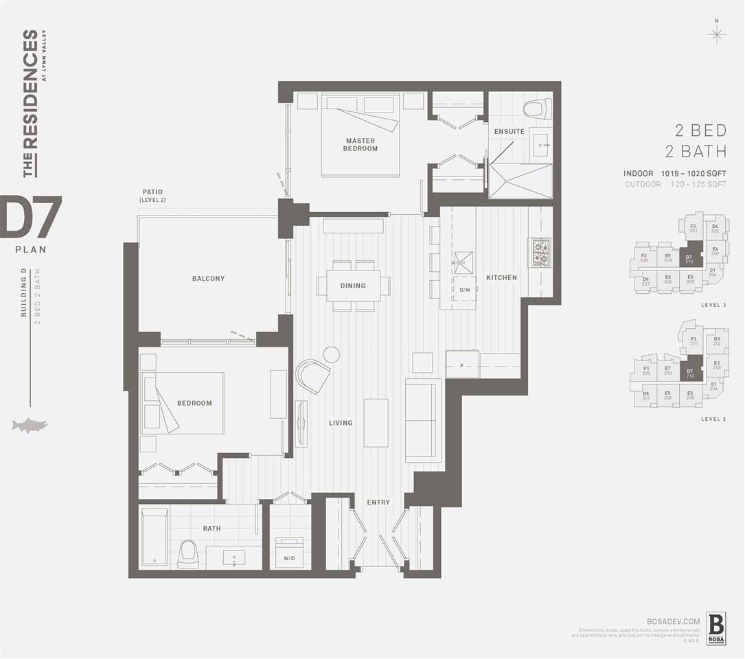 Condo Apartment at 210 2707 LIBRARY LANE, Unit 210, North Vancouver, British Columbia. Image 12