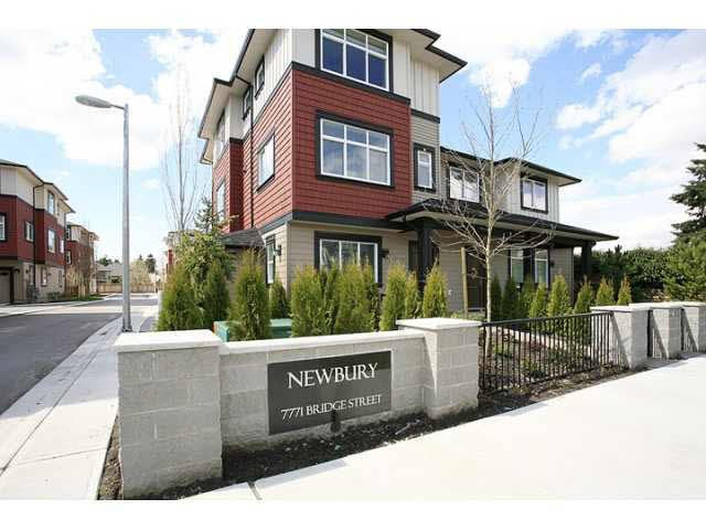 Townhouse at 17 7771 BRIDGE STREET, Unit 17, Richmond, British Columbia. Image 1
