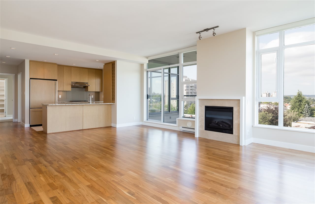 Condo Apartment at 802 1333 W 11TH AVENUE, Unit 802, Vancouver West, British Columbia. Image 4